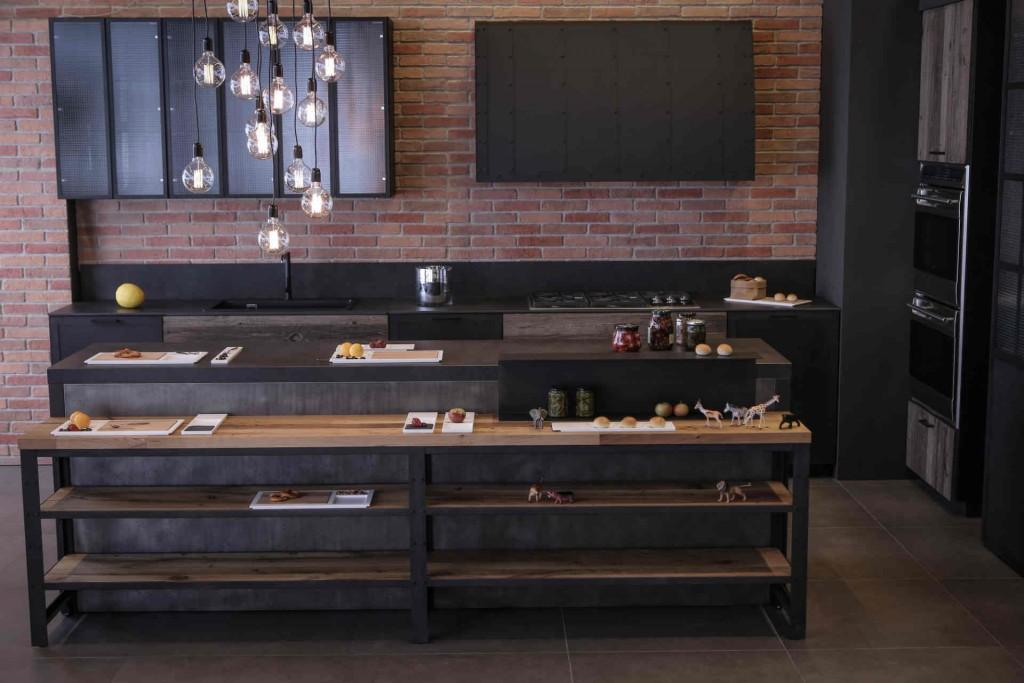 Molto 3 aspetti di design per valorizzare le cucine stile industriale  QZ37
