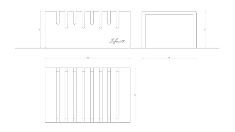 infinito design originis portagrissini krion scheda tecnica
