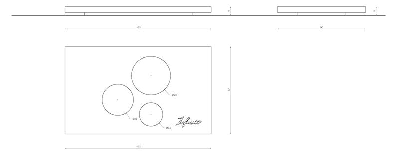 infinito design originis portasale scheda tecnica
